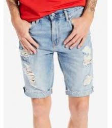 Рваные шорты мужские