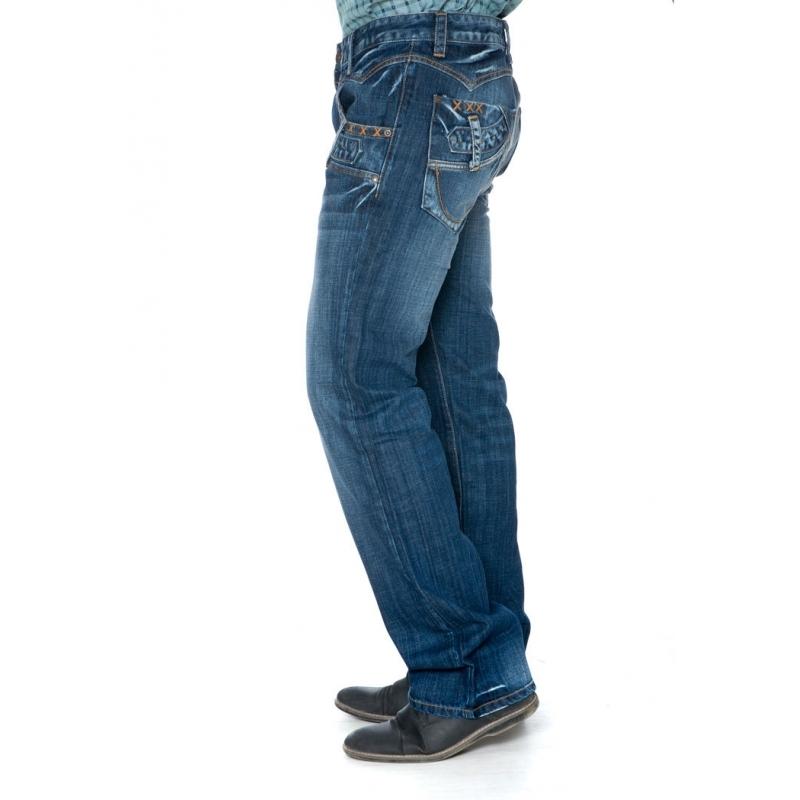 Мужские джинсы 1084 в распродажа синие