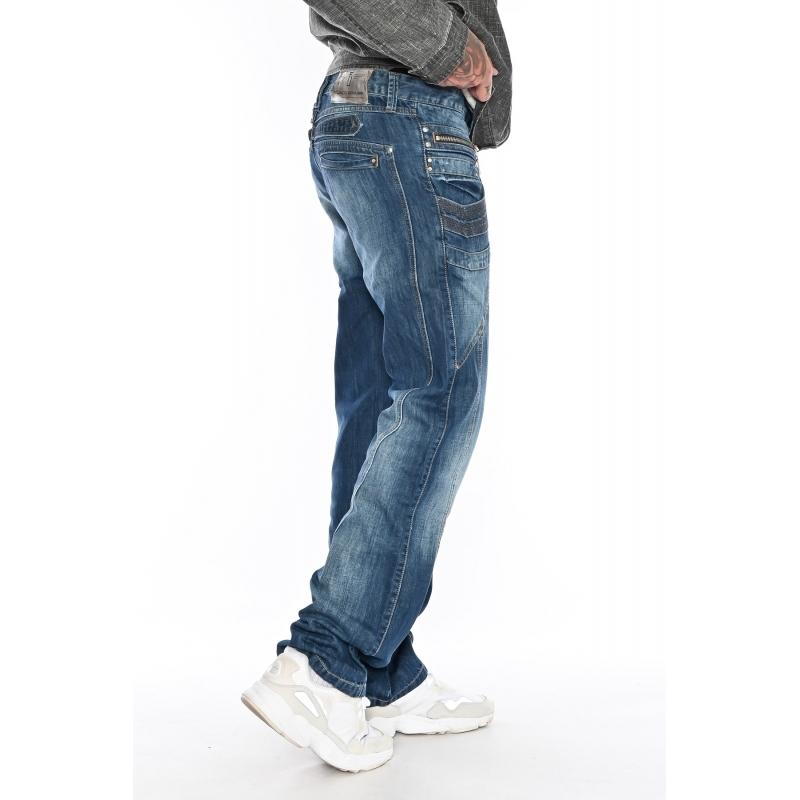 Мужские джинсы Franco Benussi 1085 синие