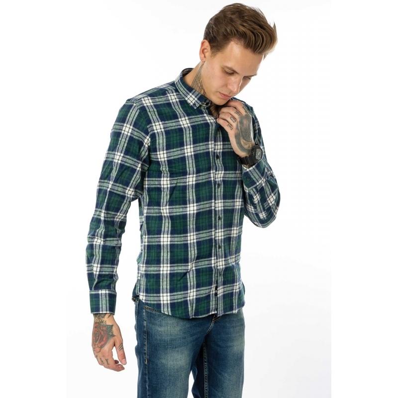 Мужская рубашка в клетку - Gelix -Турция