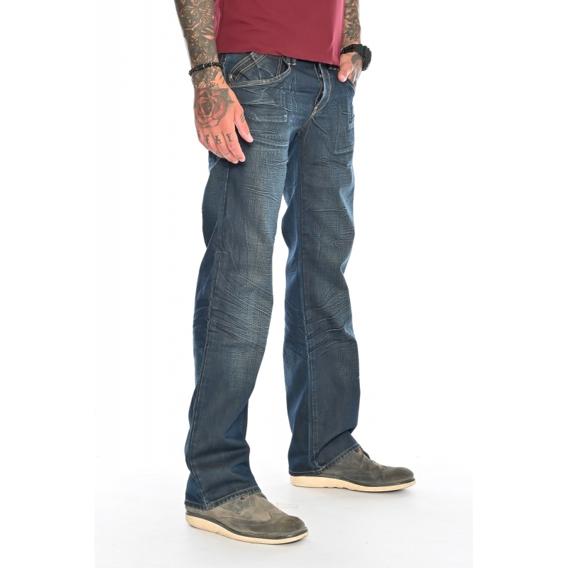 Мужские джинсы Franco Benussi 1187-309 синие