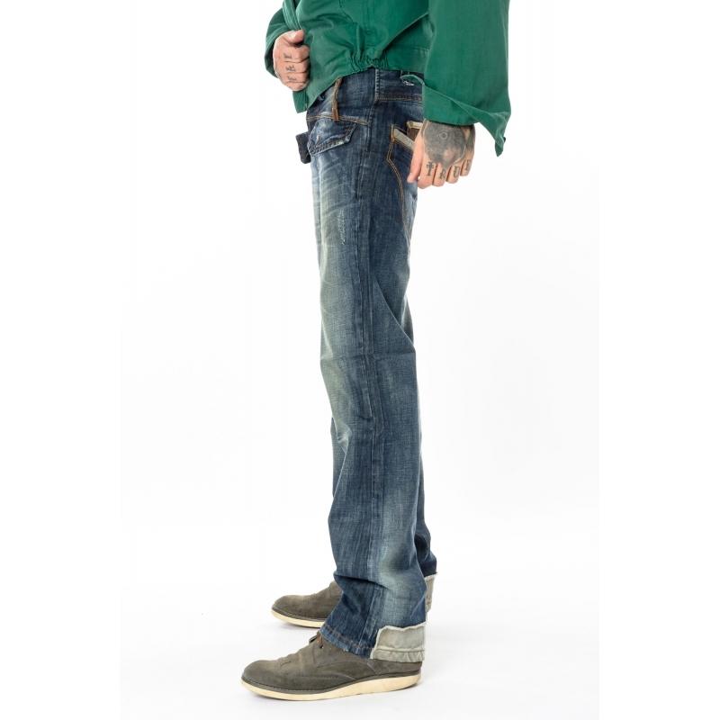 Стильные джинсы Franco Benussi 1193 темно-синие
