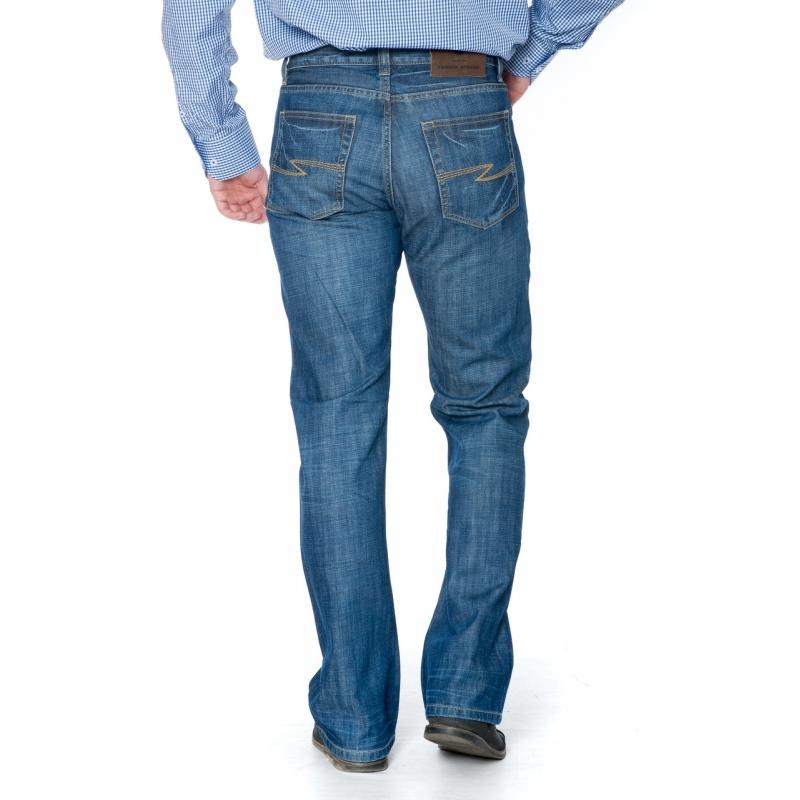 Мужские джинсы Franco Benussi 1207 синие