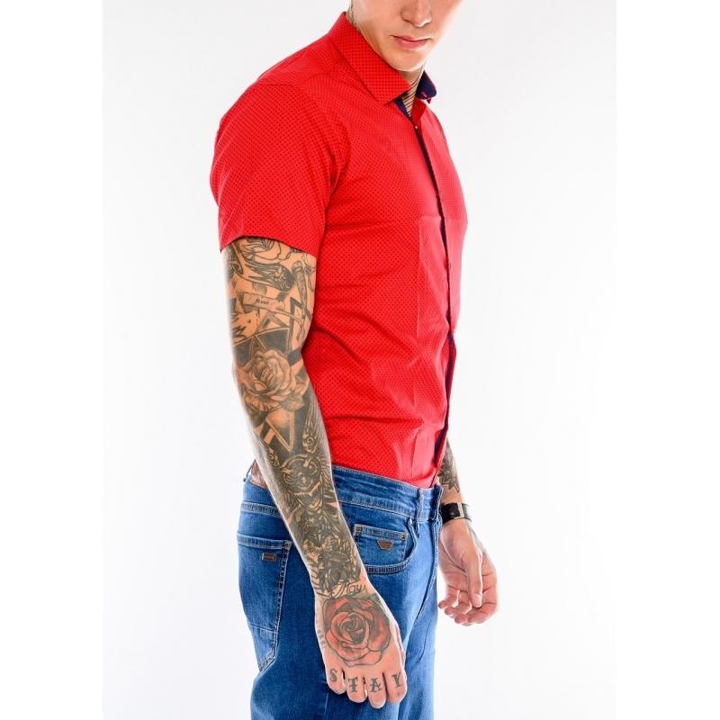 Рубашка мужская Gelix 1237003 красная