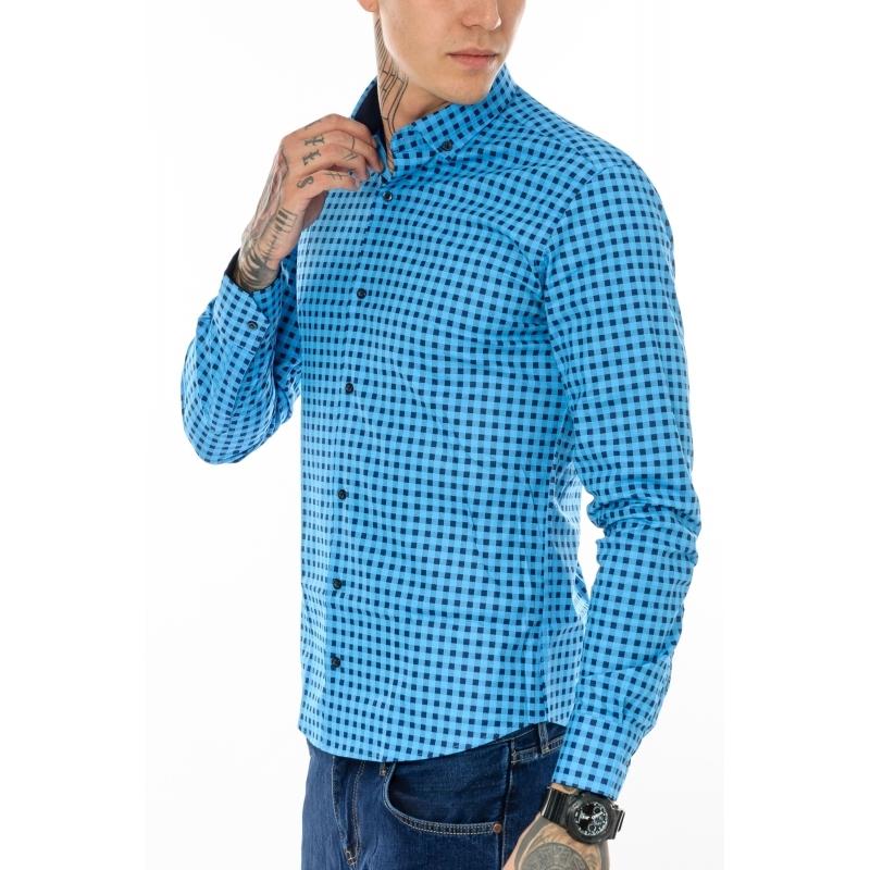 Рубашка мужская Gelix 1276004 с длинным рукавом