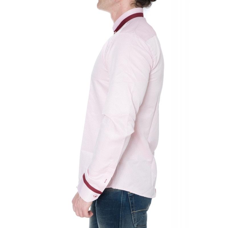 Рубашка Gelix 128001 бордовая