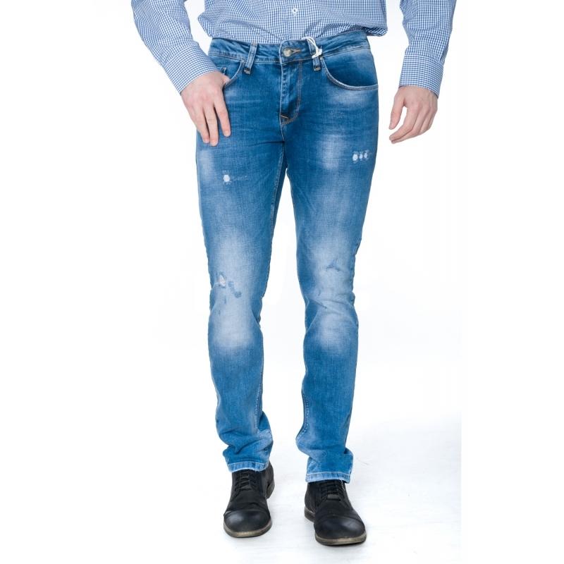 Джинсы Franco Benussi 19-413 зауженные синие