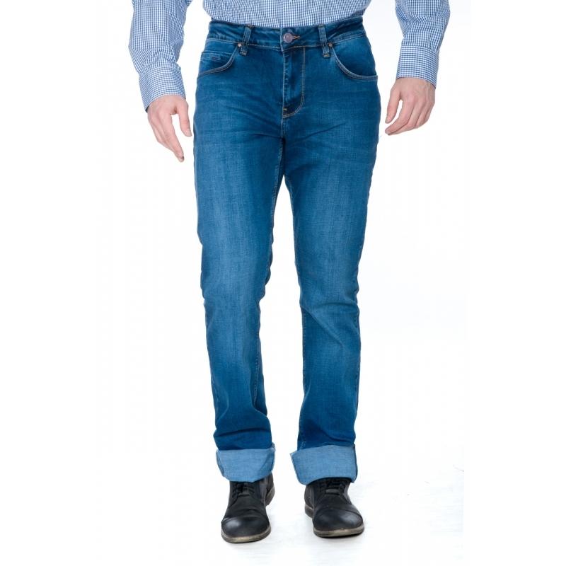 Джинсы мужские Franco Benussi 19-445 синие на высокий росто