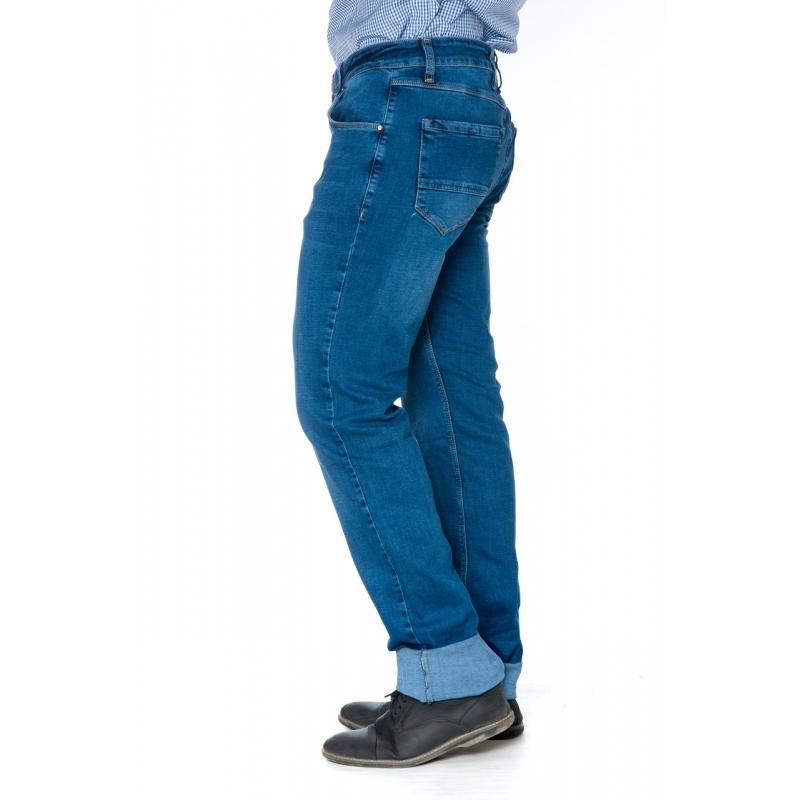Джинсы мужские Franco Benussi 19-445 синие на высокий рост