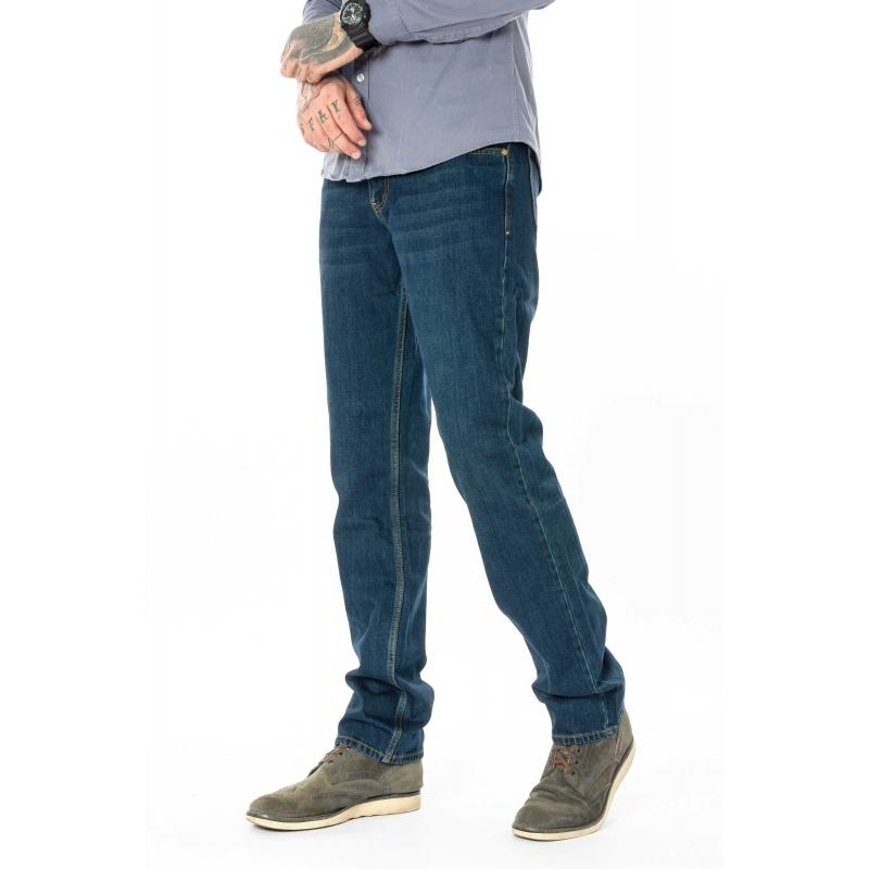 Мужские джинсы Franco Benussi 20-139 темно-синие
