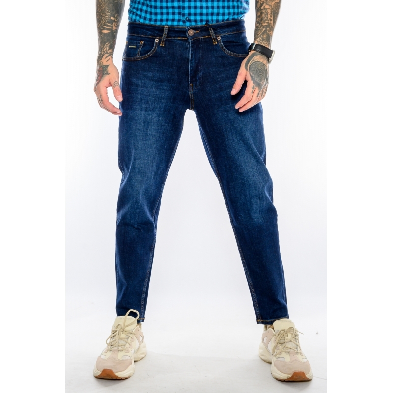 Джинсы мужские зауженные MOM 21540 blue