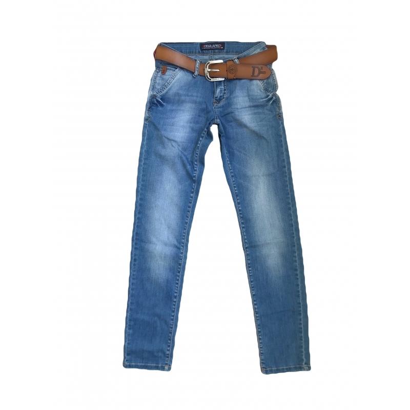 Джинсы мужские Dsguared2 skinny 2168 синие