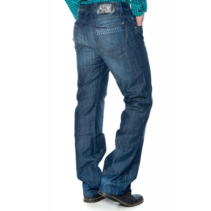 Джинсы мужские Franco Benussi 3038 темно-синие