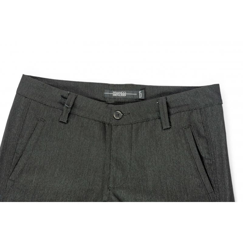 Джинсы-брюки Franco Benussi 3209 черные