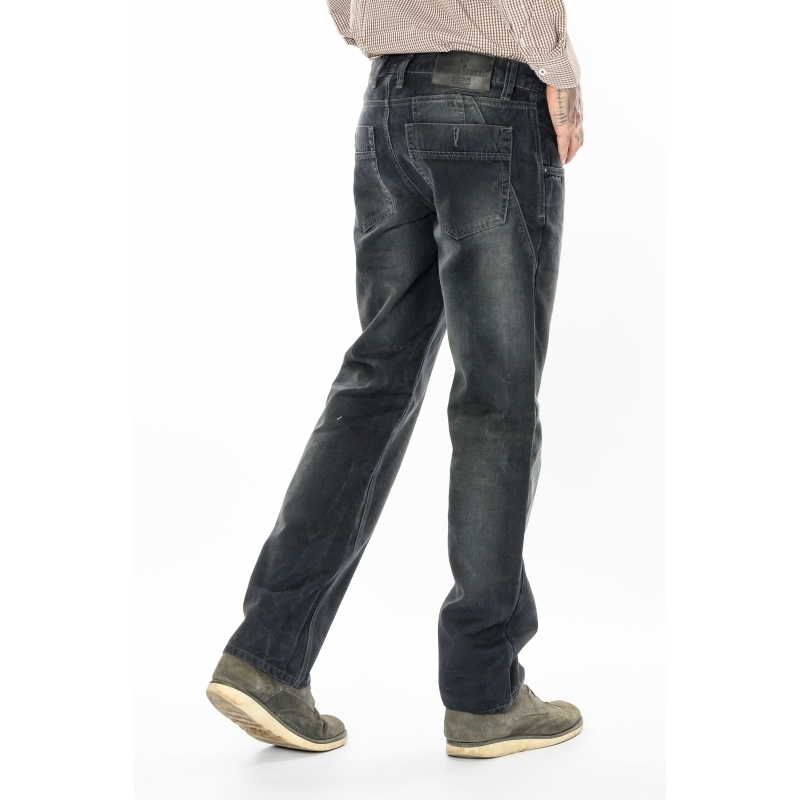 Стильные мужские джинсы FB 3247 темно-серые