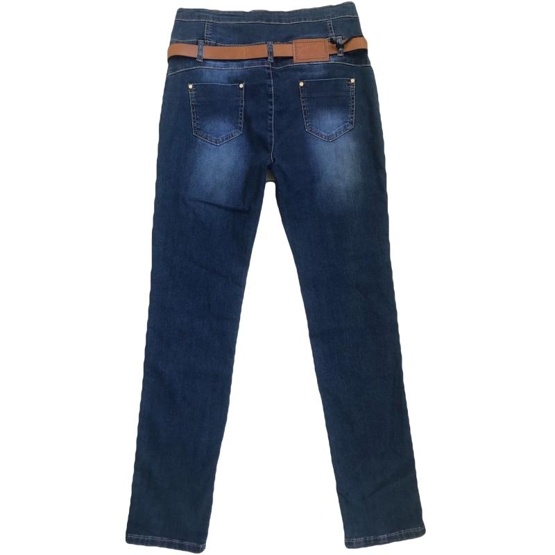 Женские джинсы больших размеров lucky jojo 5509 синие
