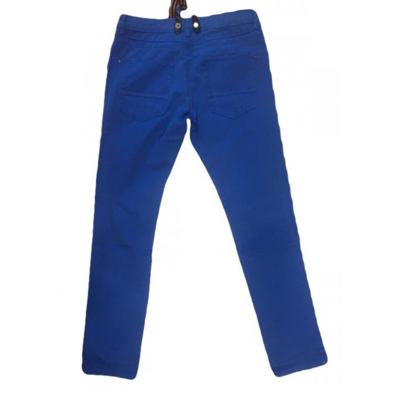 Джинсы мужские Blue white 2052 электрик
