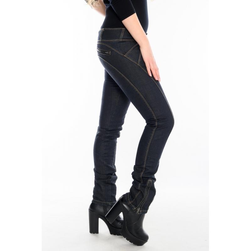 Женские джинсы OMAT jeans 9254-575 Dark(темно-синие)