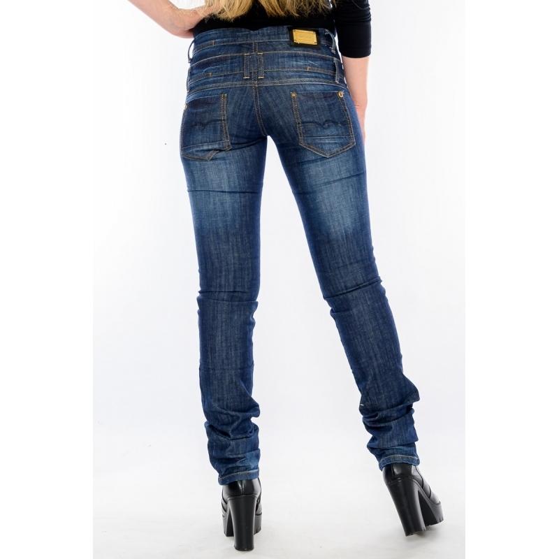 Джинсы женские OMAT jeans 9573-720 синие