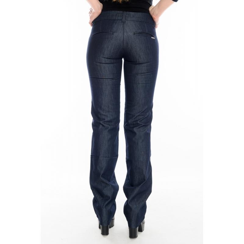 Женские джинсы (брюки) OMAT 9651 синие