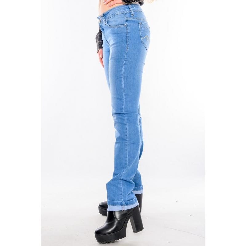 Синие джинсы женские летние Киев