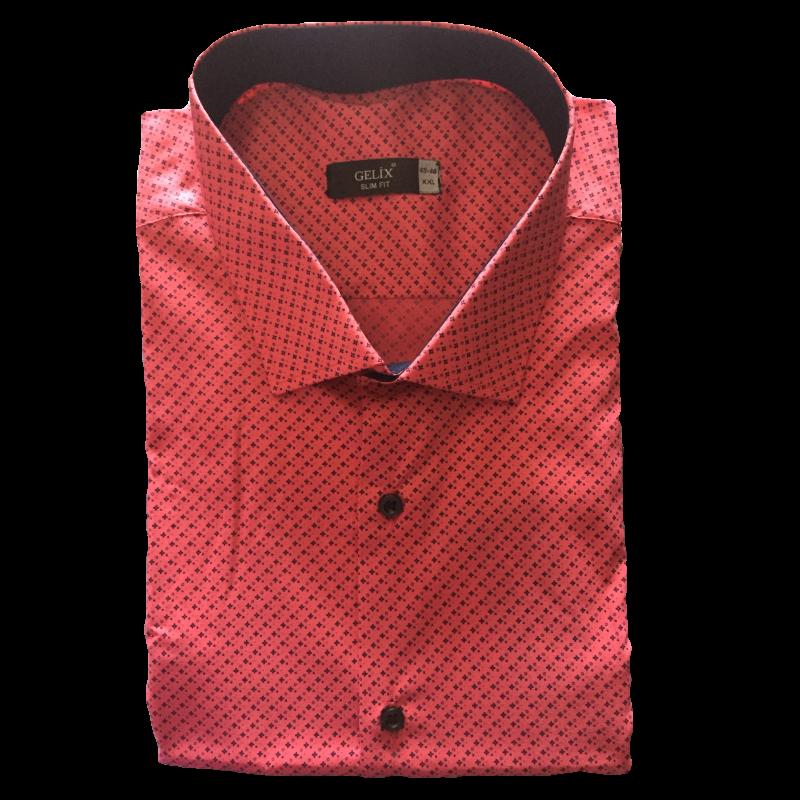 Рубашка мужская малиновый цвет G 1238001