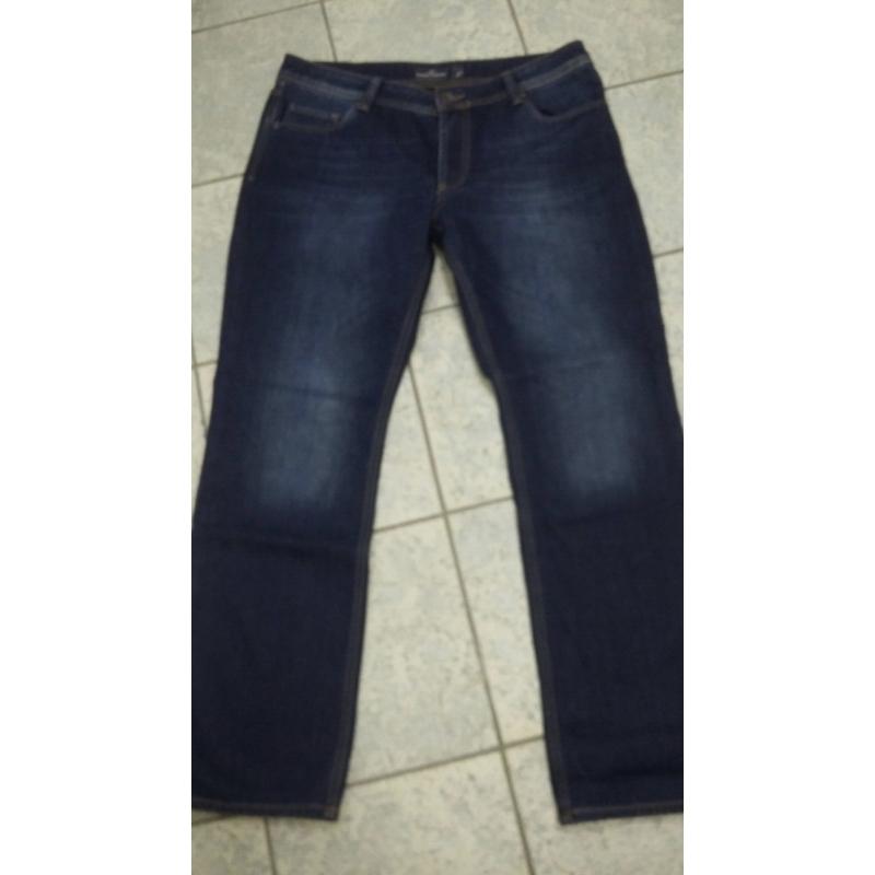 Утеплённые джинсы мужские MADOC синие