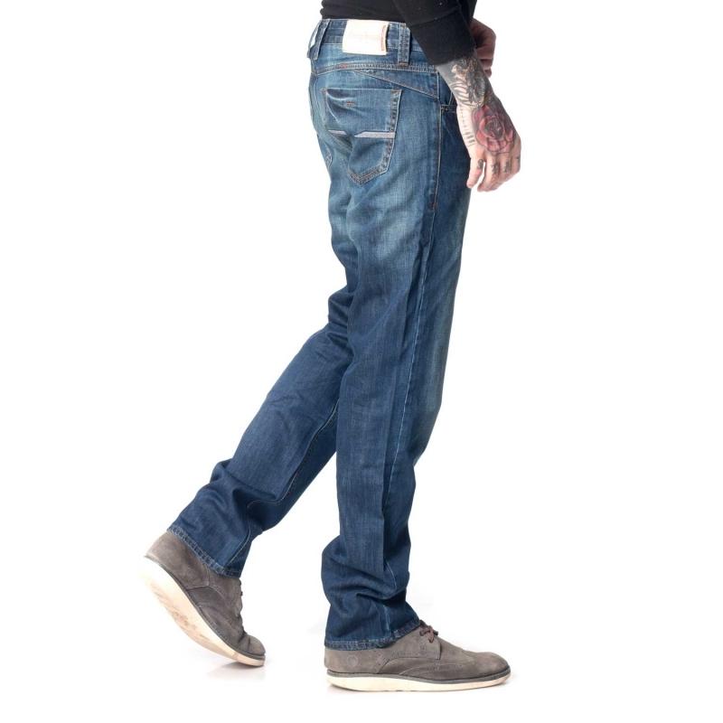 Джинсы мужские Franco Benussi 15-108 темно-синие
