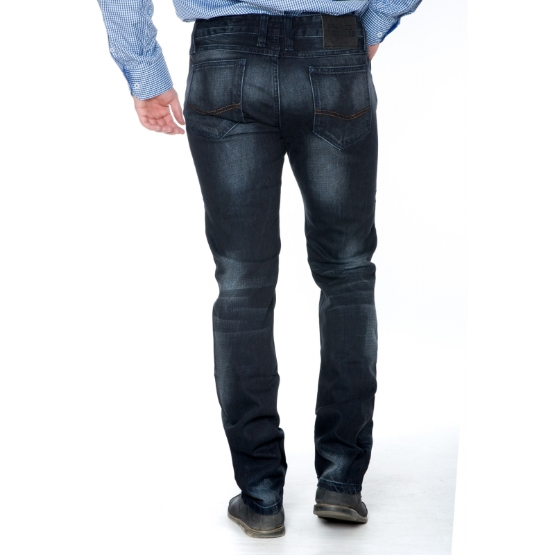 Джинсы мужские Franco Benussi 3607 темно-серые