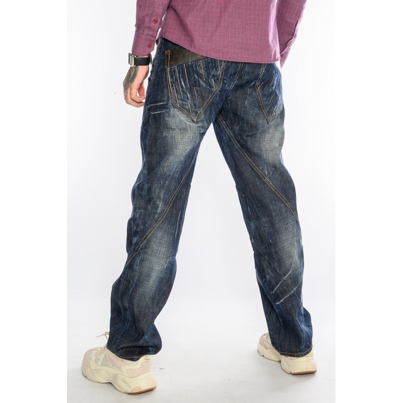 Мужских джинсов Franco Benussi 1156 Dark