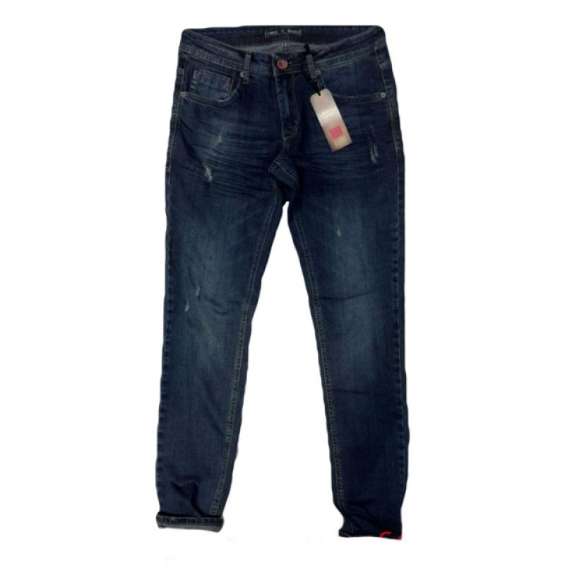 Barcelona - джинсы мужские синего цвета 17140
