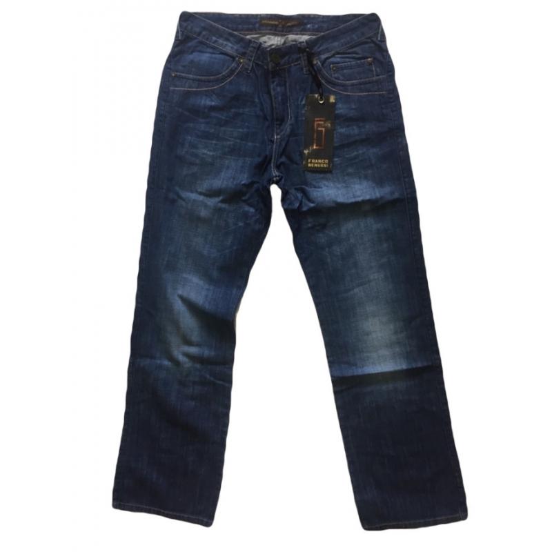 Джинсы Franco Benussi 1013 большие размеры синие