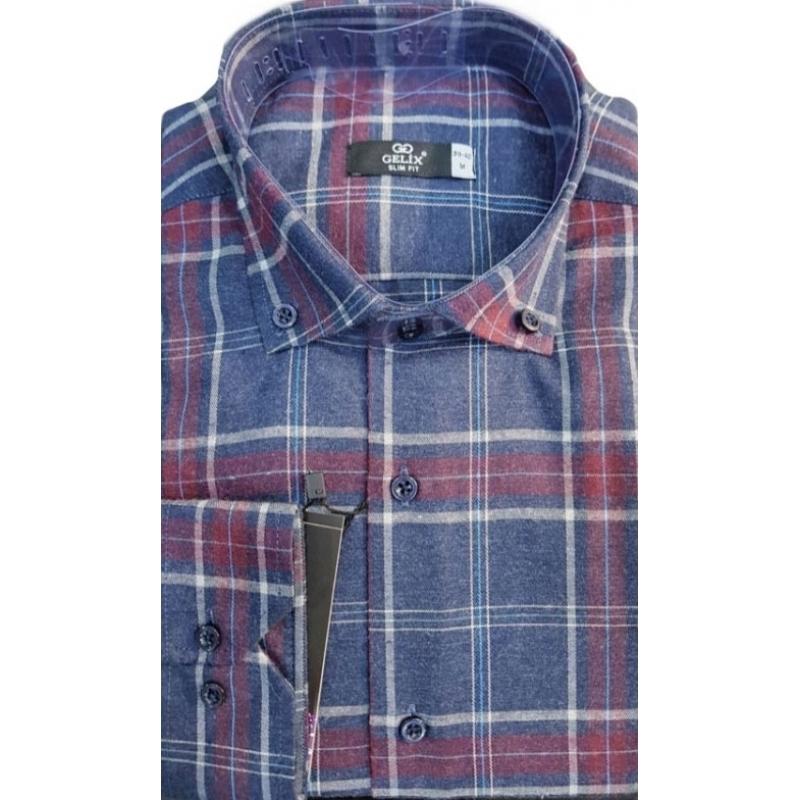 Рубашка мужская Gelix длинный рукав - Одесса