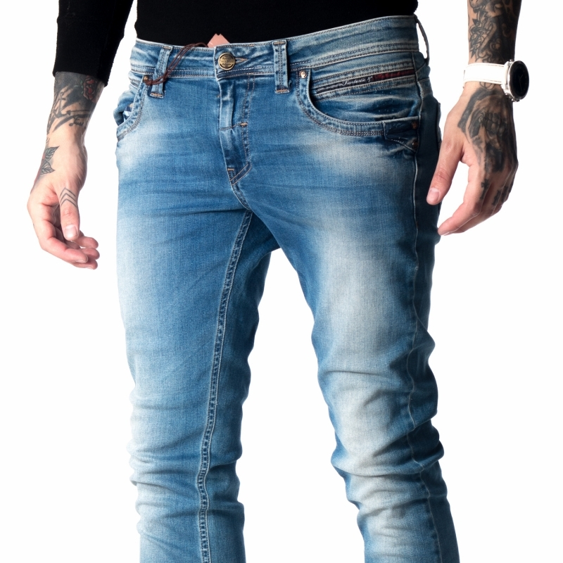 Зауженные джинсы мужские fb15201