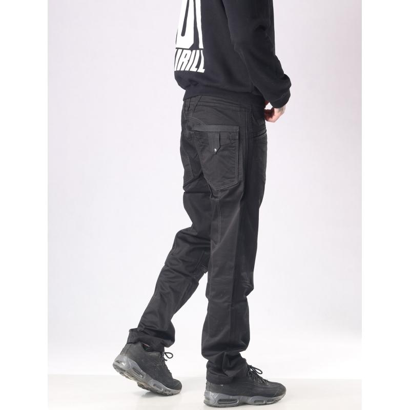 Мужские джинсы Franco Benussi 3257 черные.