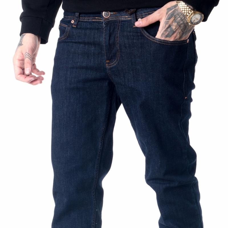 Мужские джинсы однотонные 18-734