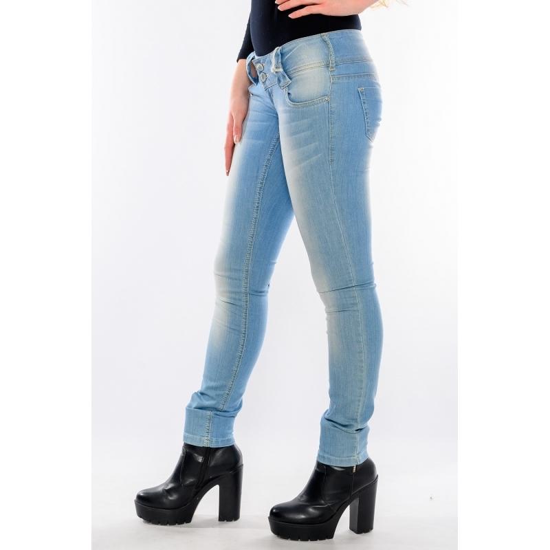 Женские джинсы Just point 352 голубые