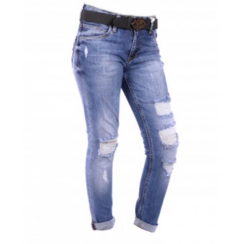 Джинсы женские-бойфренды Jass jeans