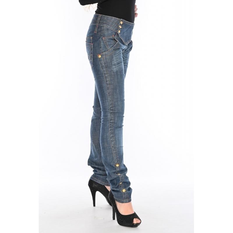 Женские джинсы OMATjeans 9397 синие