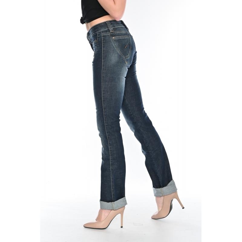 Джинсы женские OMAT jeans 9567-803 синие