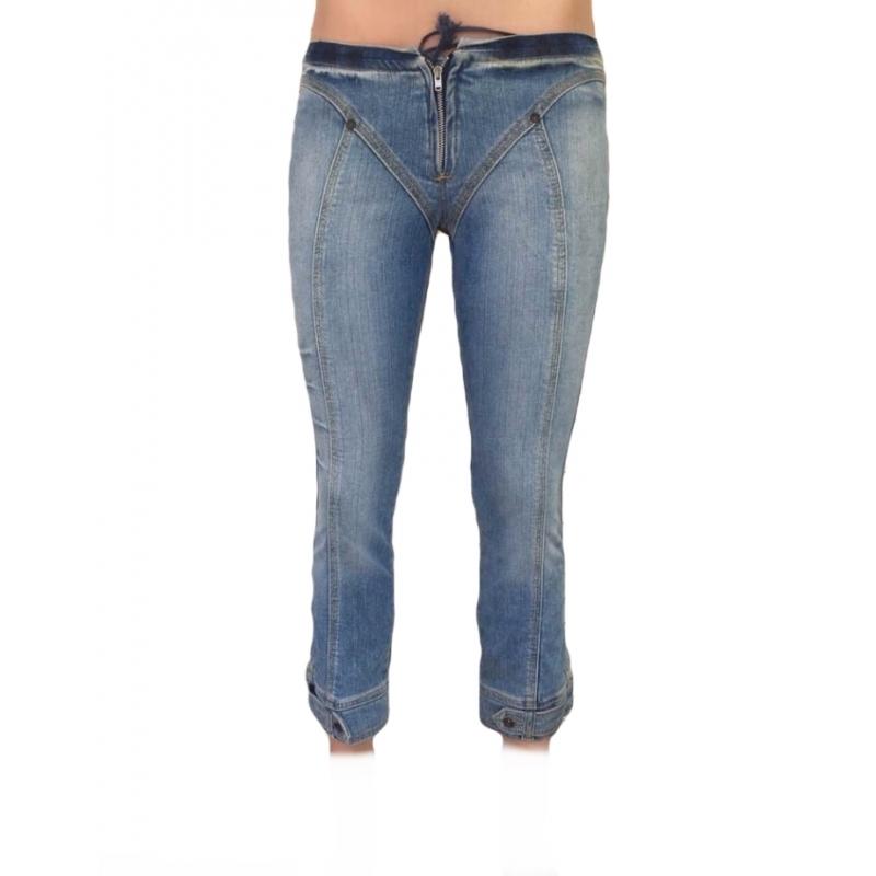 Бриджи женские джинсовые OM 1407