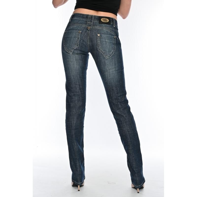 Женские джинсы  OMAT jeans 9581-804 синие