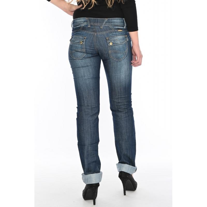 Женские джинсы OMAT 9610 синие