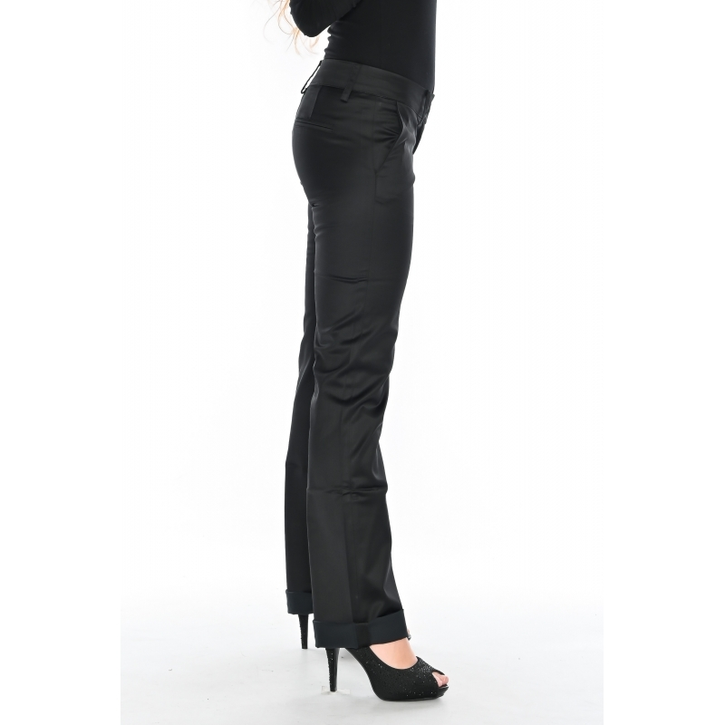 Женские брюки OMAT 9651 черные
