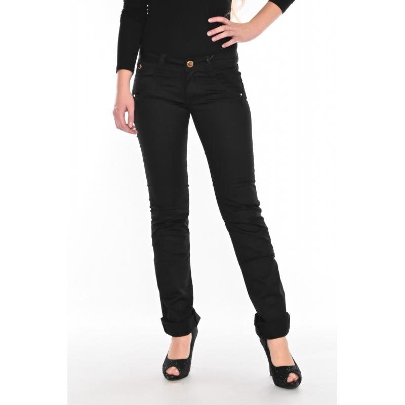 Стрейчевые брюки Оматjeans 9801-569 чёрные