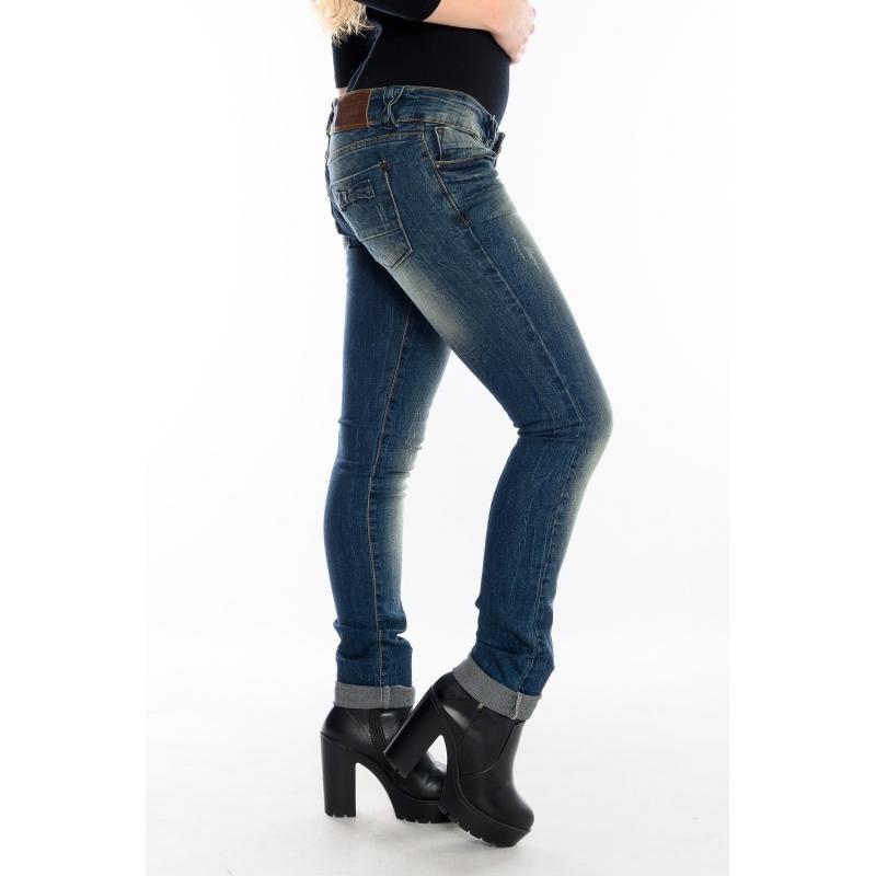 Узкие джинсы Red blue 3029 синие