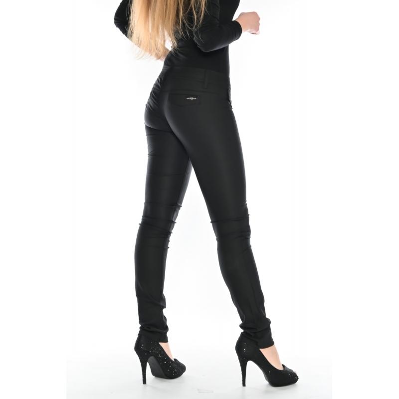Эластичные джинсы OMAT 9955 черные