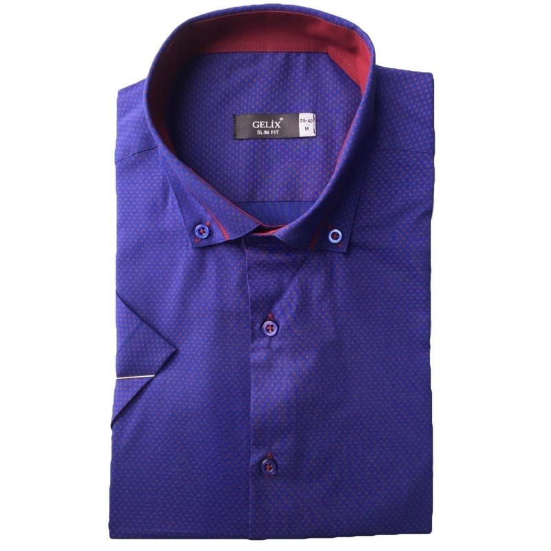 Рубашка мужская c короткие рукав Одесса