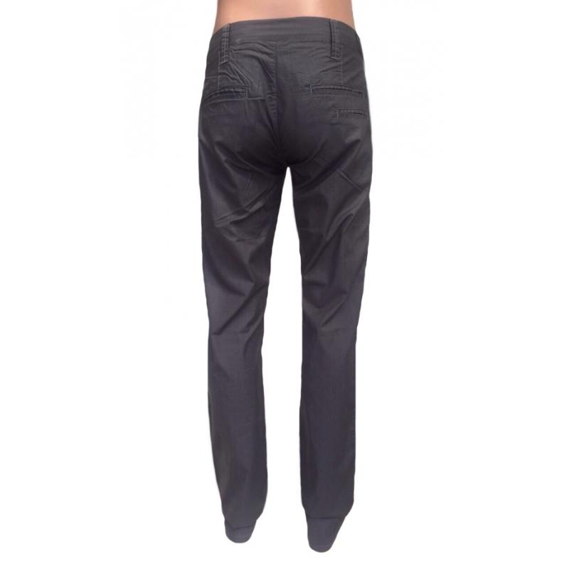 Тёмно-серые джинсы мужские