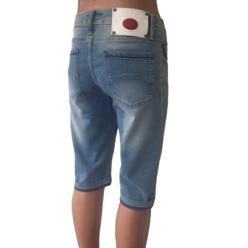 Мужские шорты голубого цвета 12-120